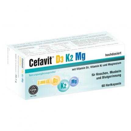 CEFAVIT D3 K2 Mg Hartkapseln