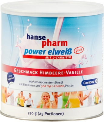 hansepharm power eiweiß HIMBEERE-VANILLE