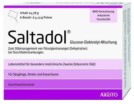 SALTADOL Elektrolyt Plv.z.Her.e.Lsg.z.Einnehmen