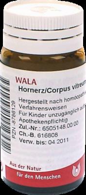 HORNERZ/Corpus vitreum comp.Globuli