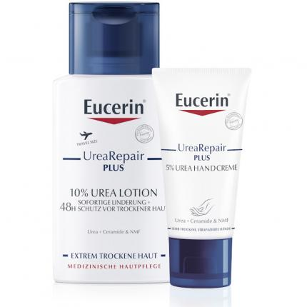 Eucerin UreaRepair PLUS - Set Handcreme + Lotion