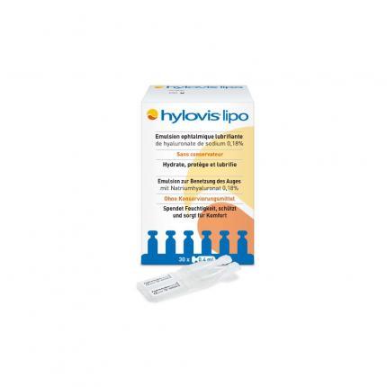 Hylovis lipo Benetzungsaugentropfen