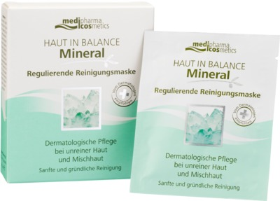 HAUT IN BALANCE Mineral regulier.Reinigungsmaske