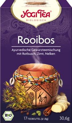 YOGI TEA Rotbusch Bio Filterbeutel