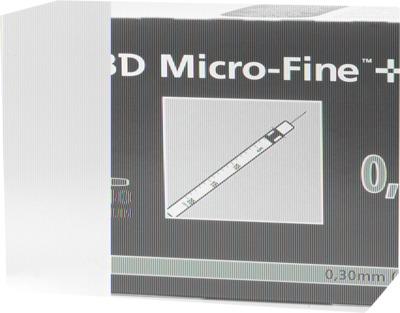 BD MICRO-FINE+ Insulinspritzen 0,5 ml U40 8 mm