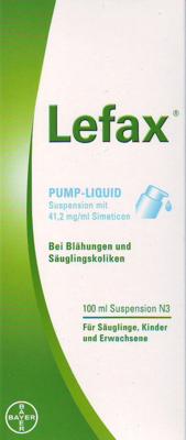 Lefax Pump-Liquid Suspension