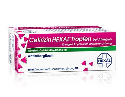 Cetirizin HEXAL bei Allergien 10mg/ml