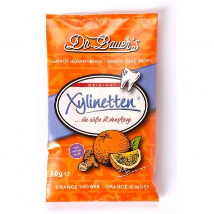 XYLINETTEN Orange Ingwer Bonbons