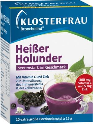 KLOSTERFRAU Broncholind heißer Holunder Granulat