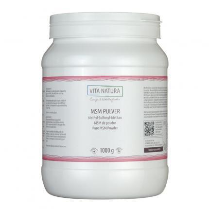 MSM PULVER Methylsulfonylmethan Pulver