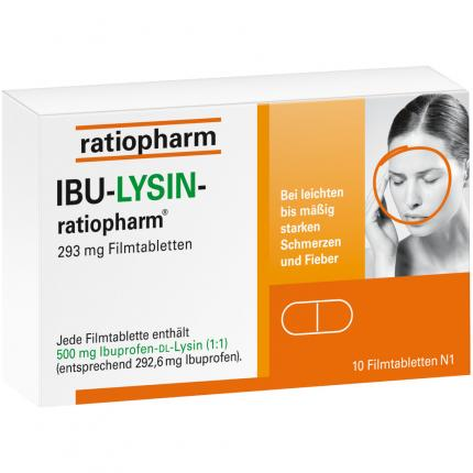 IBU-LYSIN-ratiopharm 293 mg