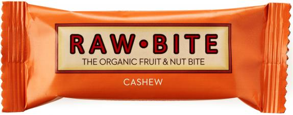 Raw Bite Bio Riegel Cashew