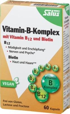 VITAMIN B Komplex vegetabile Kapseln Salus