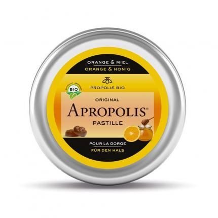 Propolis Pastillen Orange Honig Apropolis
