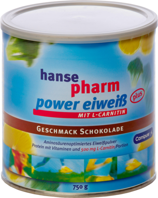 HANSEPHARM Power Eiweiß plus Schoko Pulver