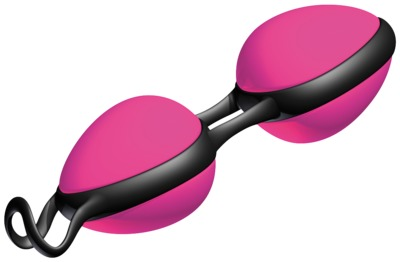 JOYBALLS secret pink-schwarz