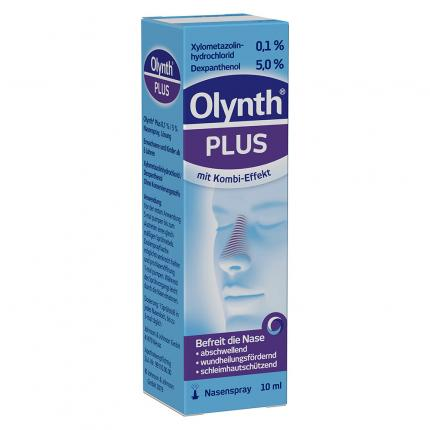 Olynth Plus 0,1%/5% für Erwachsene Nasenspray o.K.