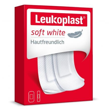 Leukoplast soft white Pflaster (20 St; 2 Größen)