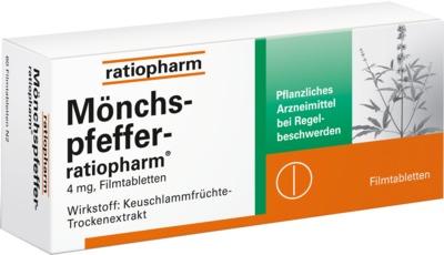 MÖNCHSPFEFFER-ratiopharm 4mg