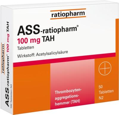 ASS-ratiopharm 100mg TAH