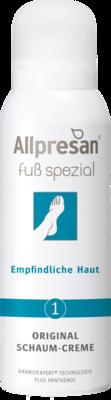 Allpresan Fuß spezial Nr. 1 Original Schaum-Creme Empfindliche Haut