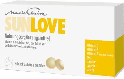 MARIE Claire Sunlove Tabletten