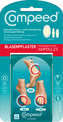COMPEED Blasenpflaster Mixpack