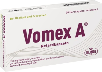 Vomex A Retardkapseln 150mg