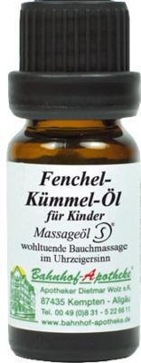 Fenchel-Kümmel-Öl für Kinder Massageöl