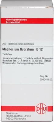 MAGNESIUM FLUORATUM D 12 Tabletten