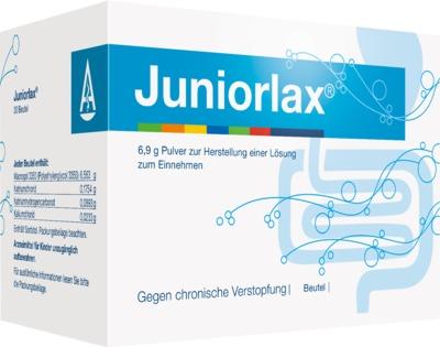 JUNIORLAX Plv.z.Herst.einer Lösung zum Einnehmen