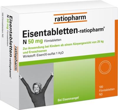 Eisentabletten-ratiopharm N 50mg