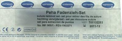 PEHA FADENZIEHSET
