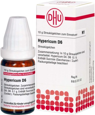 HYPERICUM D 6 Globuli