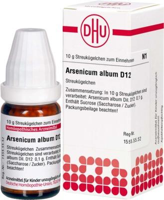 ARSENICUM ALBUM D 12 Globuli