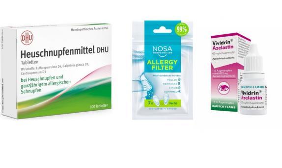 Allergie Augen + Nasen Set