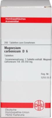 MAGNESIUM CARBONICUM D 6 Tabletten