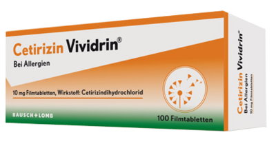CETIRIZIN Vividrin 10 mg Filmtabletten
