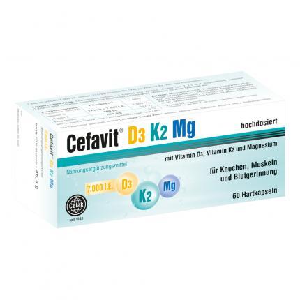 Cefavit D3 K2 Mg 7.000 I.e. Hartkapseln