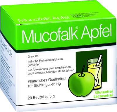 Mucofalk Apfel Beutel