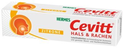 CEVITT Hals & Rachen Lutschtabletten Zitrone