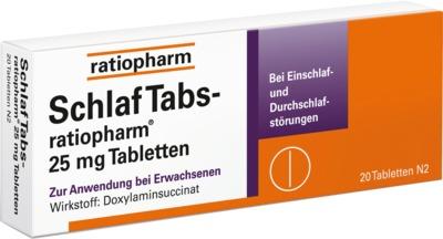 SchlafTabs-ratiopharm 25mg