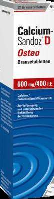 Calcium-Sandoz D Osteo 600mg/400 I.E.