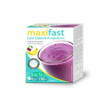Maxifast Drink Kirsch-banane Pulver