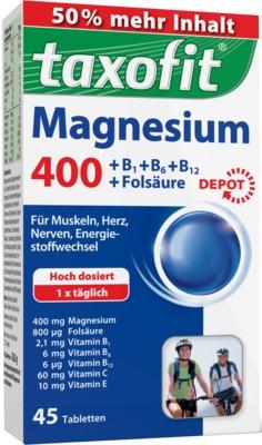 TAXOFIT Magnesium 400 Tabletten