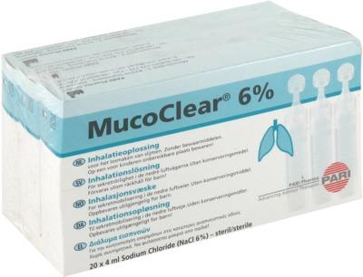 MUCOCLEAR 6% NaCl Inhalationslösung