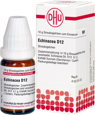 ECHINACEA HAB D 12 Globuli