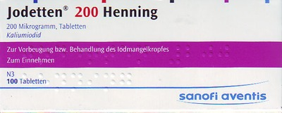 Jodetten 200 Henning 200 Mikrogramm