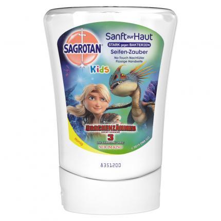 SAGROTAN Kids No-Touch Nachfüller Seifenzauber