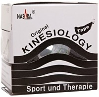 NASARA Kinesiologie Tape 5 cmx5 m schwarz